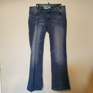 Apollo White Wash Blue Denim Jeans